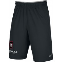 West Hills Christian 26: Adult-Size - Nike Team Fly Athletic Shorts - Black