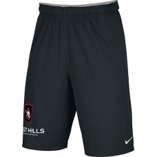 West Hills Christian 27: Youth-Size - Nike Team Fly Athletic Shorts - Black
