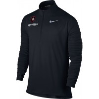West Hills Christian 22: Nike Element Men's Long Sleeve Running Top - Black