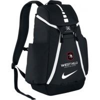 West Hills Christian 28: Nike Elite Max Air Team 2.0 Backpack - Black